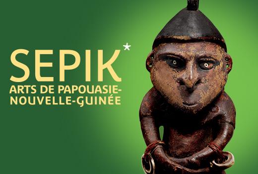 expo SEPiK musée du quai branly