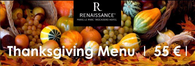 Restaurant le Relai du Parc Thanksgiving