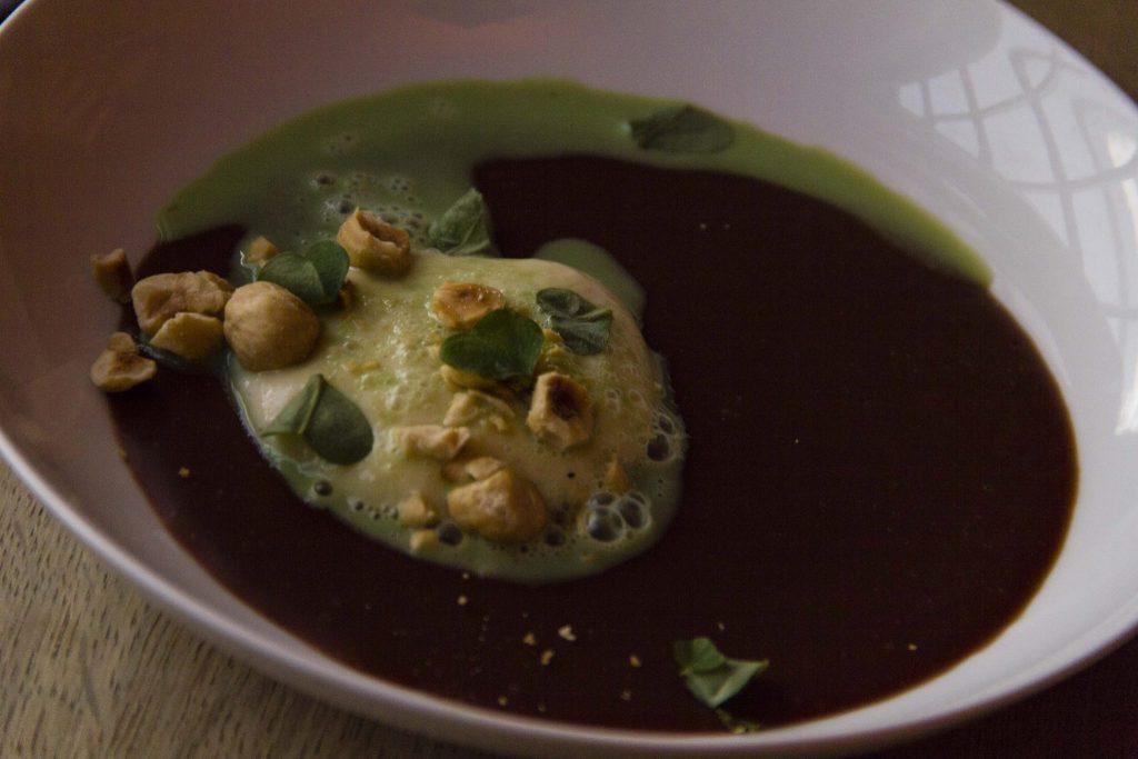 mousse au chocolat Restaurant Le Vaisseau Vert Paris - DR Nicolas Diolez 2015