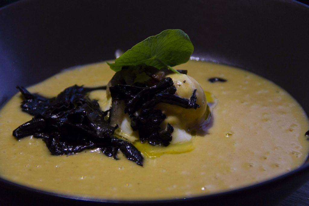 velouté de butternut Restaurant Le Vaisseau Vert Paris - DR Nicolas Diolez 2015