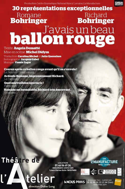 BALLON Rouge Romane