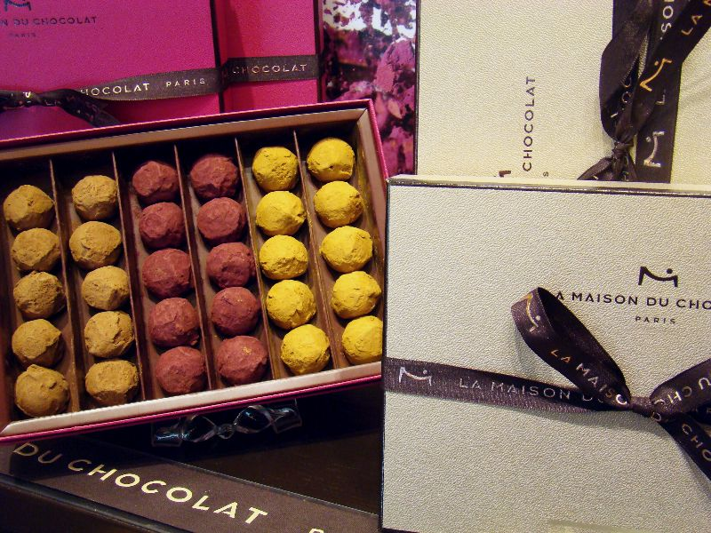 La Maison du Chocolat noël 2015 - DR Melle Bon Plan