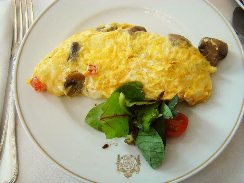 Omelette Hôtel Le Maria Cristina San Sebastian - DR Melle Bon Plan 2015