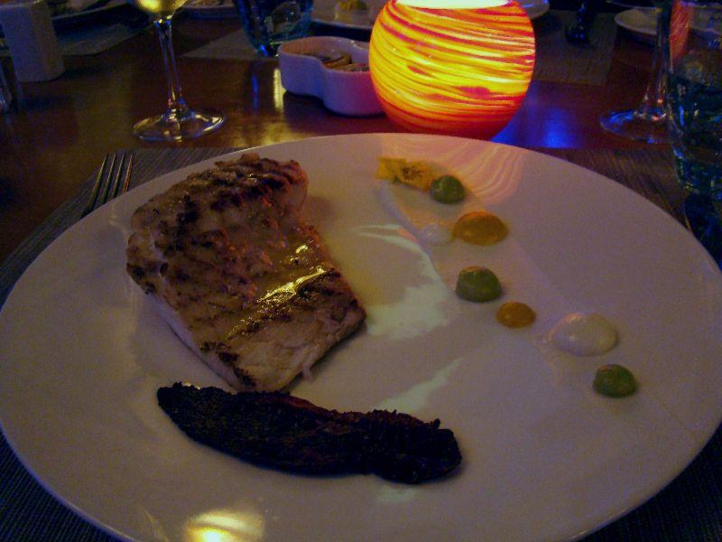 poisson du jour restaurant Sel de Mer Mazagan Resort Maroc - DR Melle Bon Plan 2015