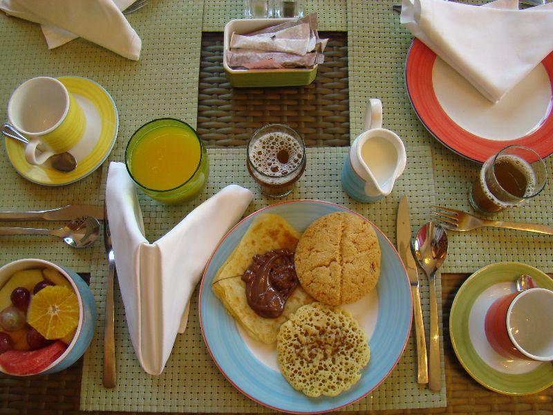 petit déjeuner Mazagan Resort Maroc - DR Melle Bon Plan 2015