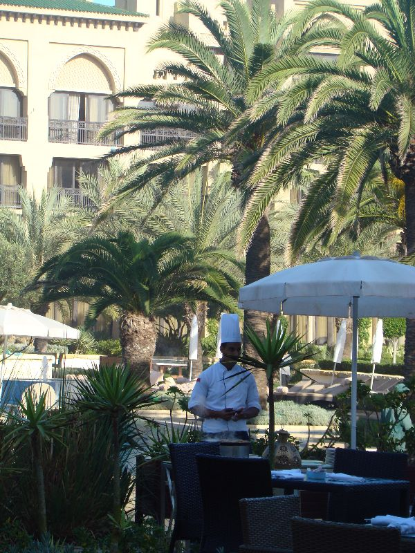 restaurant L'Olives Mazagan Resort Maroc - DR Melle Bon Plan 2015