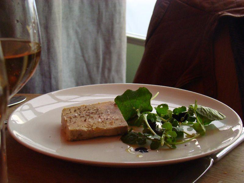 Foie gras Restaurant Le Vaisseau Vert Paris - DR Melle Bon Plan 2015