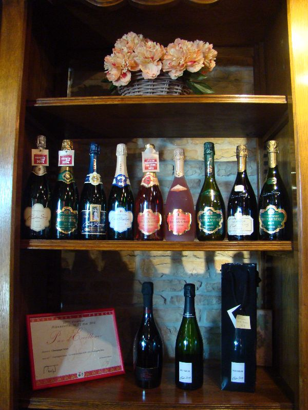 Champagne Cristian Senez Aube - DR Melle Bon Plan 2015