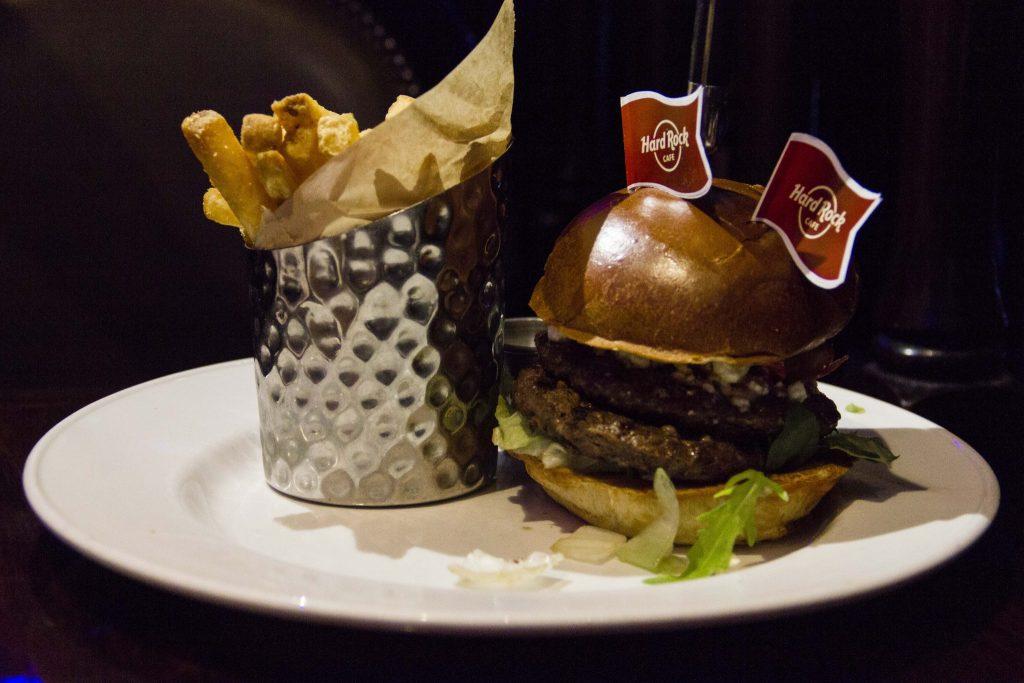 Burger de Noël Hard Rock Café Paris - DR Nicolas Diolez 2015