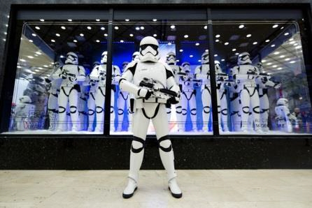 Vitrine Star Wars Galeries Lafayette
