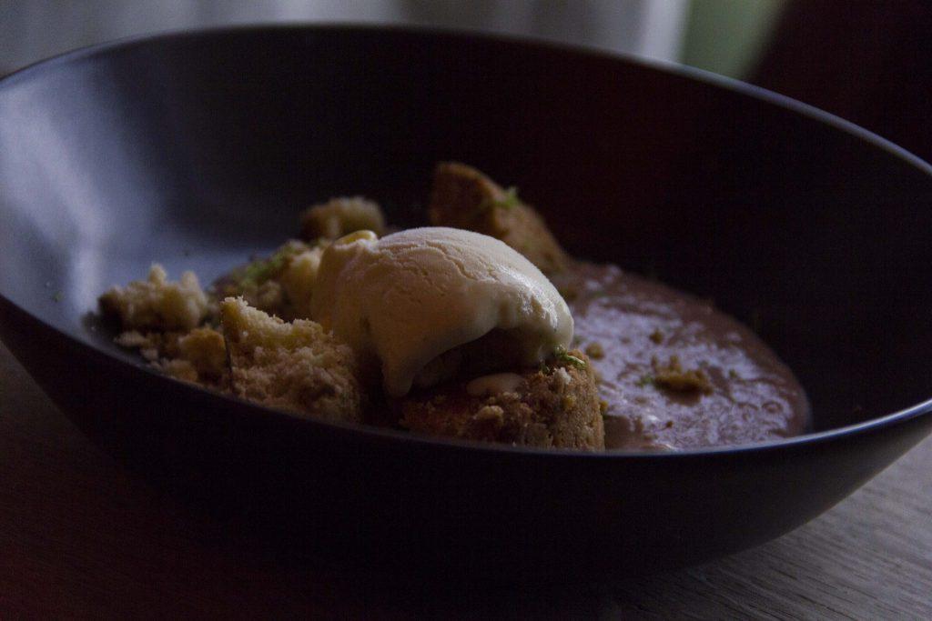 crème de marrons Restaurant Le Vaisseau Vert Paris - DR Nicolas Diolez 2015