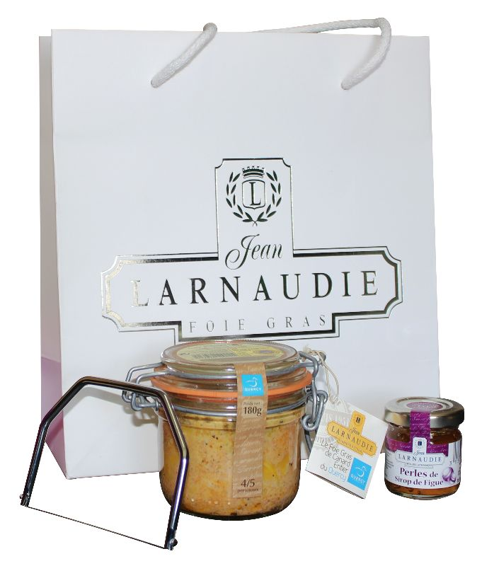 lot à gagner Maison Larnaudie foie gras