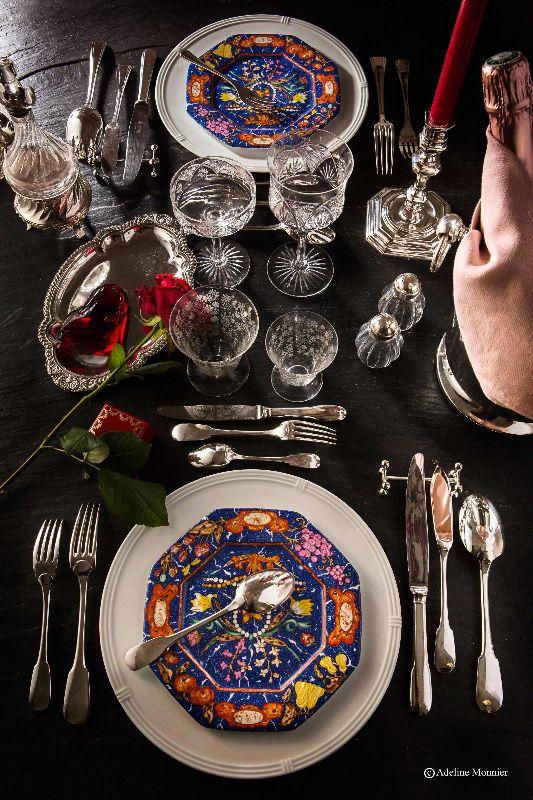 Diner privé Anne de Paris et Argenterie d'Antan