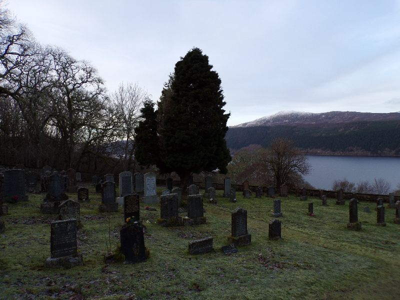 Boleskine Cemetry Inverness - DR Melle Bon Plan 2016