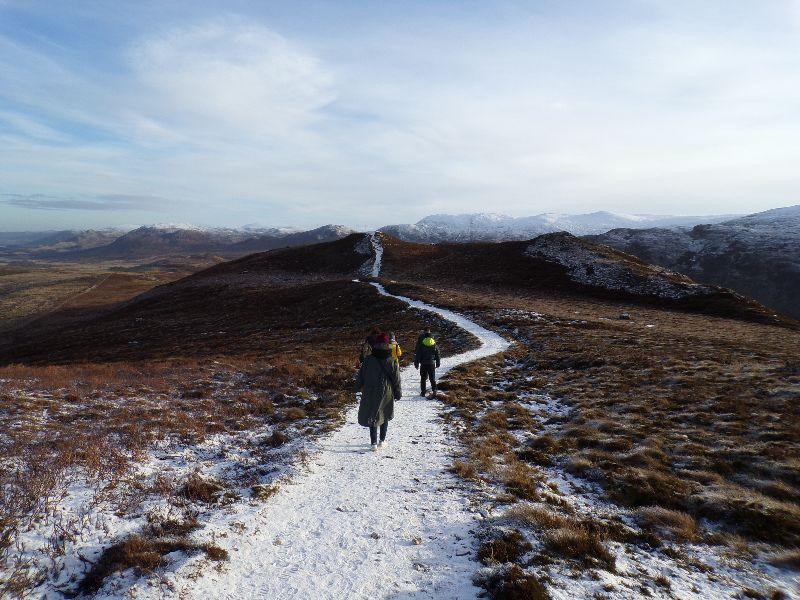randonnée mont Suidhe chuimen Inverness - DR Melle Bon Plan 2016