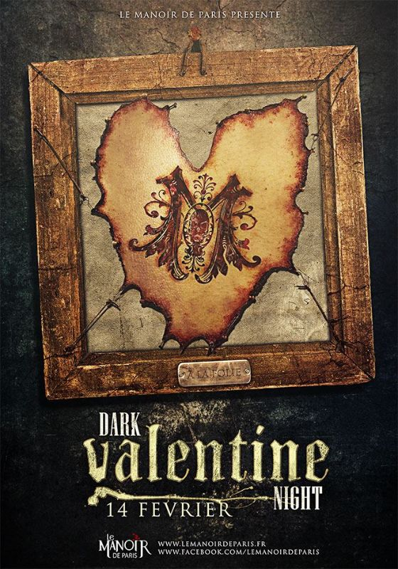 Dark Valentine Night 2016 Manoir de Paris
