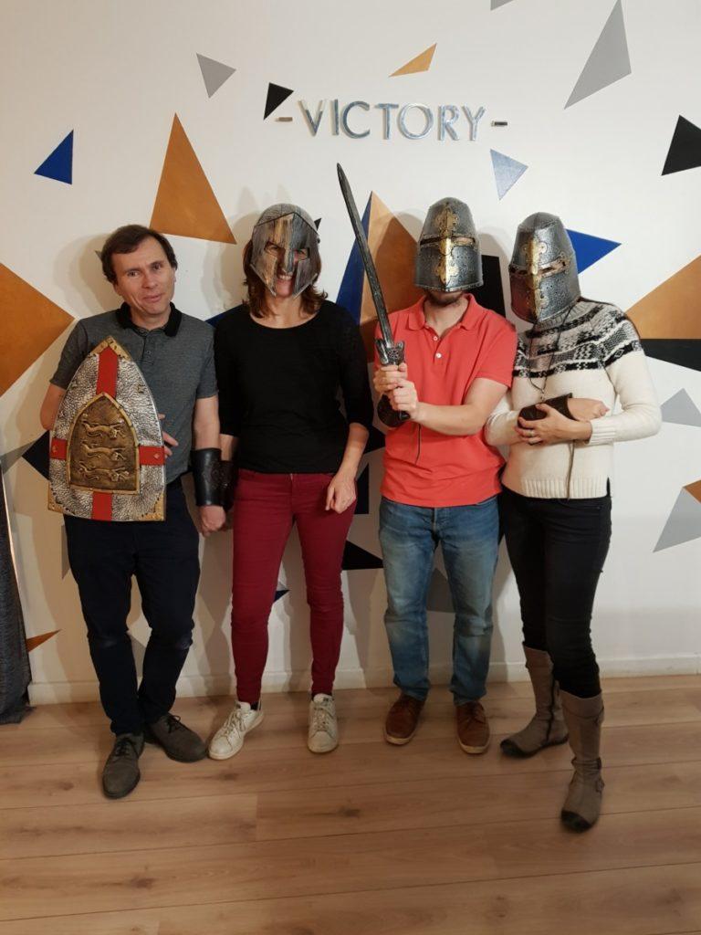 Le roi Arthur Victory Escape
