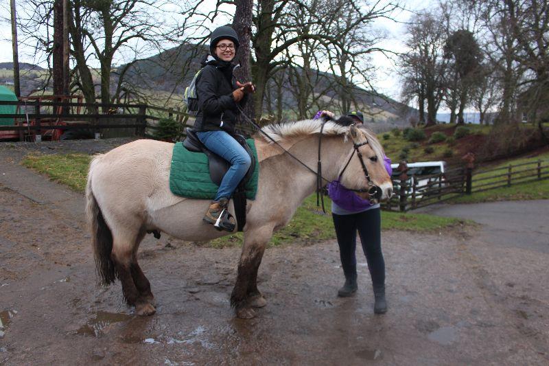Balade à cheval Inverness - DR Virginie B. 2016