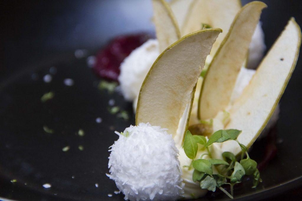 crémeux cardamone restaurant Les chouettes - DR Nicolas Diolez 2015