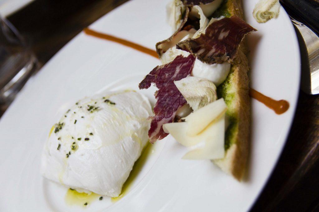 mozzarella restaurant Les chouettes - DR Nicolas Diolez 2015