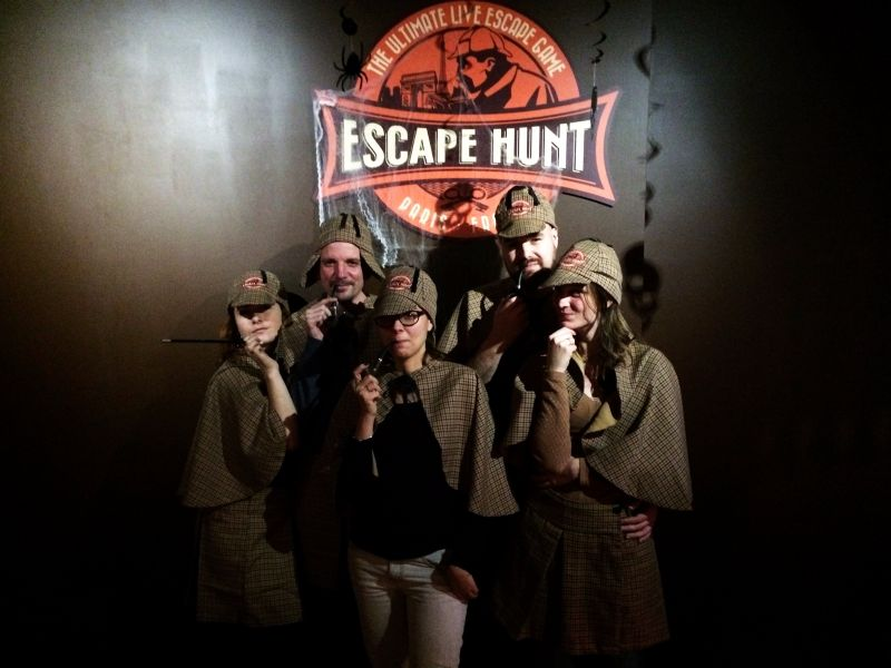 Team Melle Bon Plan Escape Hunt