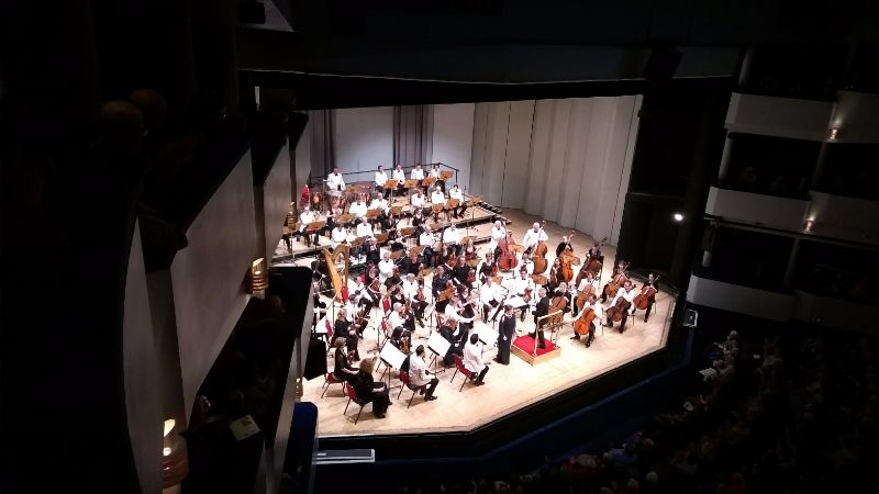 Concert Eden Court Inverness - DR Melle Bon Plan 2016