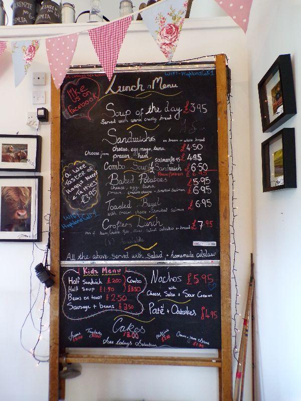 The Camerons Tea Room Inverness Ecosse - DR Melle Bon Plan 2016