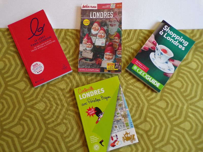 Guides Londres - DR Melle Bon Plan