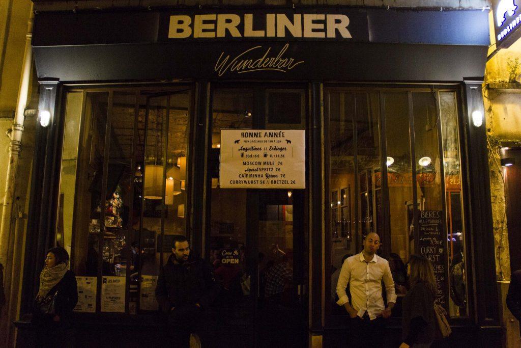 bar Berliner Paris - DR Nicolas Diolez 2016