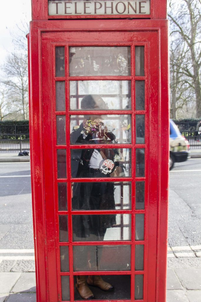 Cabine Londres - DR Nicolas Diolez 2016