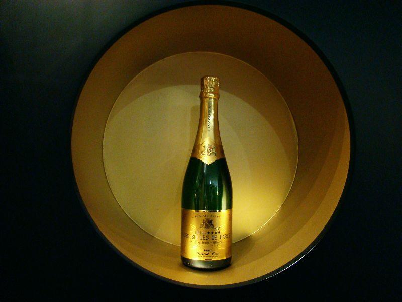 Bar à champagne Hôtel Les bulles - DR Melle Bon Plan 2015