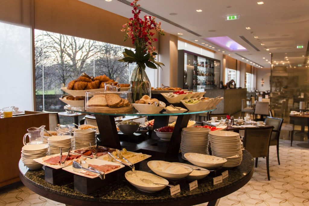 English Breakfast Royal Gardens Hotel Londres - DR Nicolas Diolez 2016