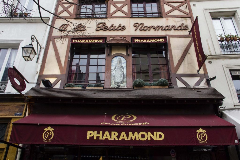 Le Pharamond Paris - DR Nicolas Diolez 2016