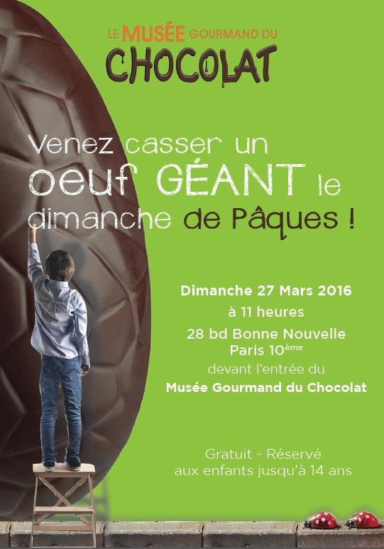 Pâques 2016 musée du chocolat