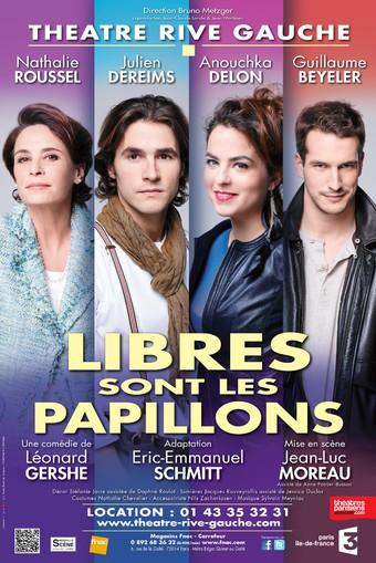 Libres sont les papillons théâtre Paris