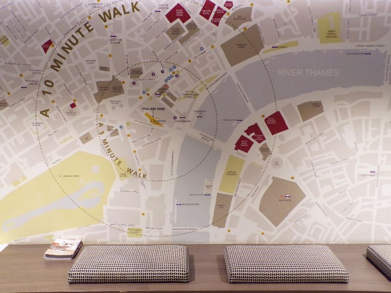 Hotel Citadines Trafalgar Londres - DR Melle Bon Plan 2016