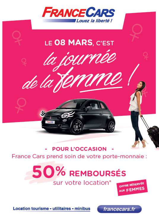 journée de la femme France Cars