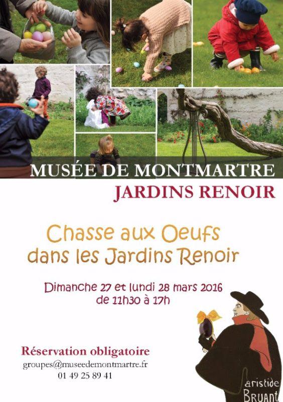 Chasse aux oeufs Montmartre 2016