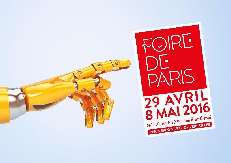 Foire de Paris 2016 Robot-main-dates+nocturne