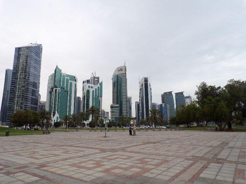 Skyline Doha Qatar - DR Melle Bon Plan 2016