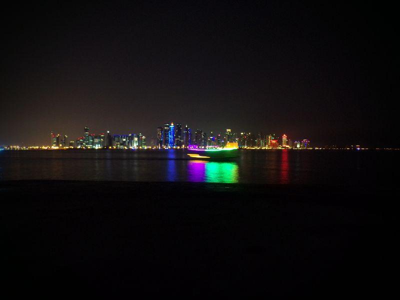 Baie de Doha Skyline Qatar - DR Melle Bon Plan 2016