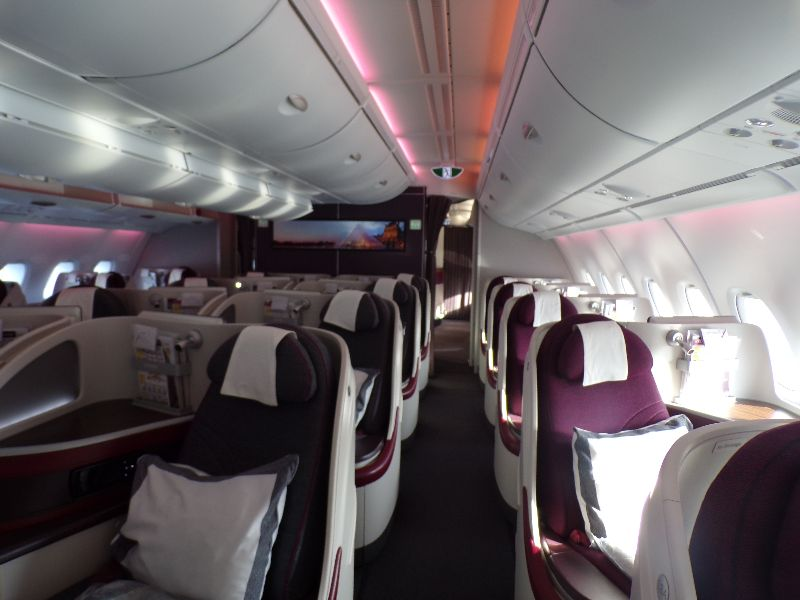 Qatar Airways business class - DR Melle Bon Plan 2016