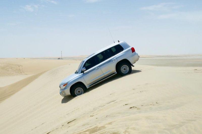 Safari 4X4 désert Qatar - DR Mathilde Meteye 2016