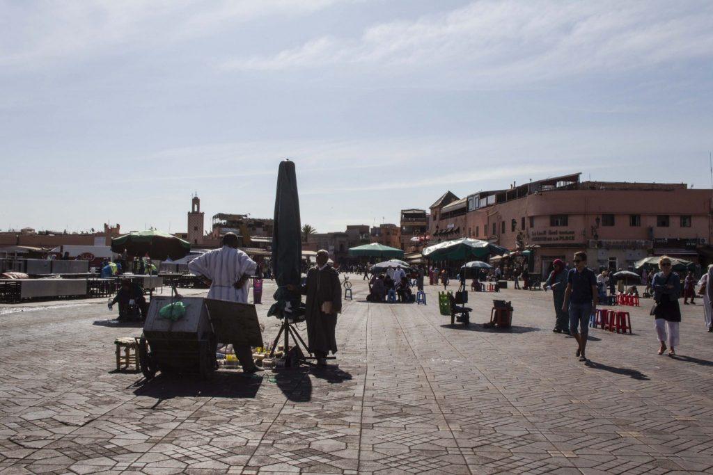 Place Jemaa-el-Fna Marrakech - DR Nicolas Diolez 2016