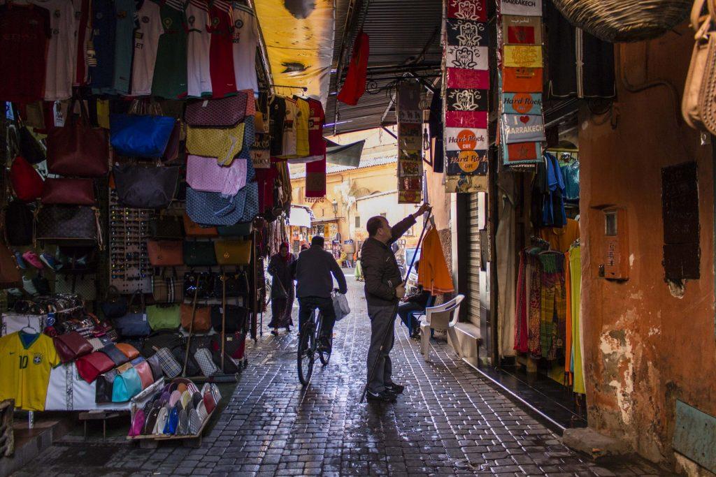 Souk Médina Marrakech - DR Nicolas Diolez 2016