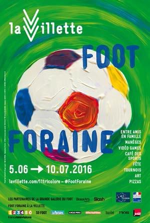 Foot Foraine La villette