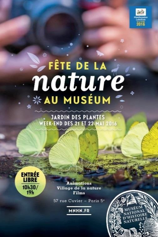 Fete de la Nature 2016 MNHN