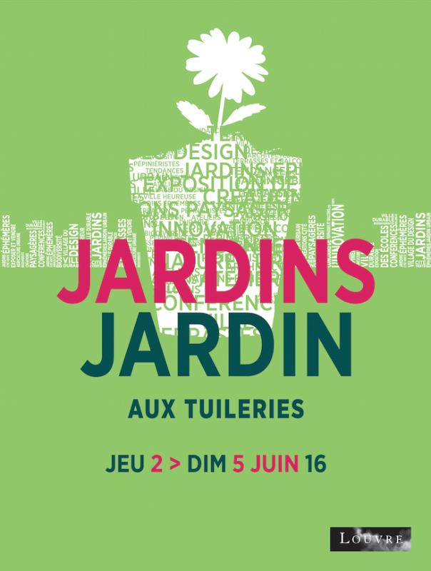 jardins jardin affiche 2016