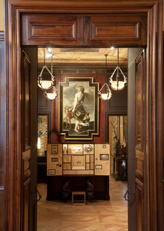 Salle du Sanglier © Sophie Lloyd Musée de la chasse et de la nature