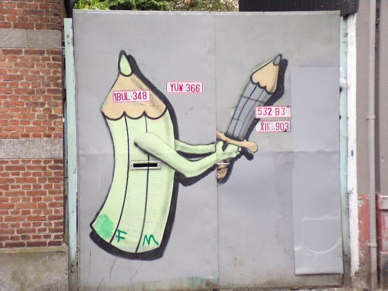 Visite Street Art Bruxelles - DR Melle Bon Plan 2016